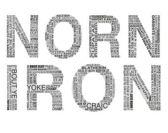 Norn iron - Northern Irish Slang - Northern Irish Language - FRAMED Funny Northern Ireland Language **Some are rude!**
