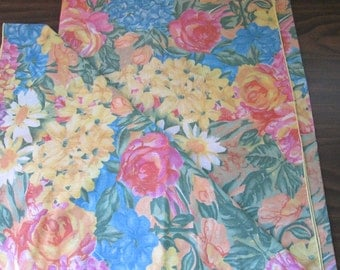 Colorful Floral Tablecloth 48 x 68