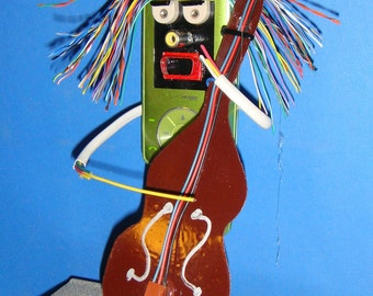 CELLIST Recycled Cellphone Sculpture