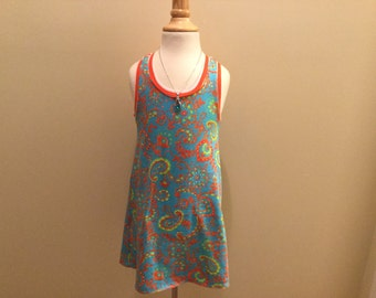 Girl razorback dress,size3t-12