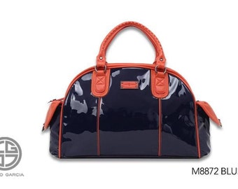 Charo Garcia bag. Patent leather bag