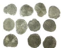 10% off Halloween Sale ONE (1) Rare Pyrite Sun Stone - Pyrite Dollar - Miners Dollar - Natural Pyrite - RK48B2b