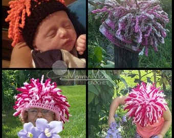 Synapse Hat ***Crochet Pattern