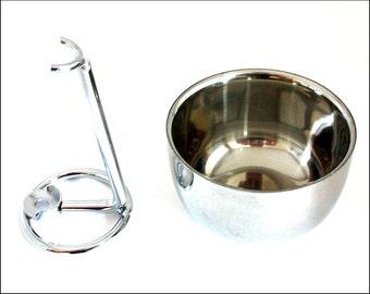Shaving Bowl and Stand. Grooming Bowl. Razor stand. Shaving Mug, Cup. Wet Shaving.