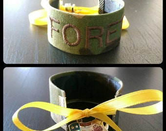 OCP Air Force - Personalized Name Tape Bracelet