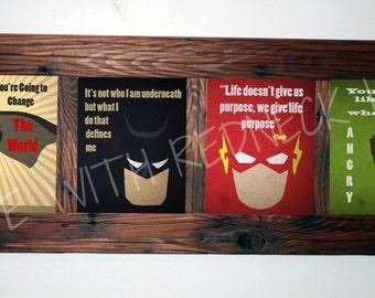FOUR Superhero Digital prints