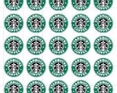 Starbucks Inspired Planner Stickers