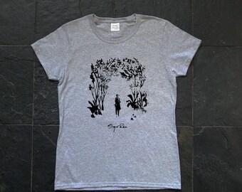 Sigur ros, Takk, Sigur Rós  - screen printed female T-shirt