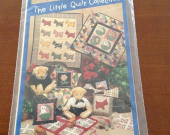 Vintage Quilt pattern - Playmates - The Little Quilt Collection