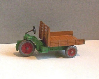 Vintage Meccano Dinky Toy 27G Farm Motocart