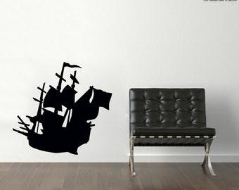 Wall Sticker Sailer