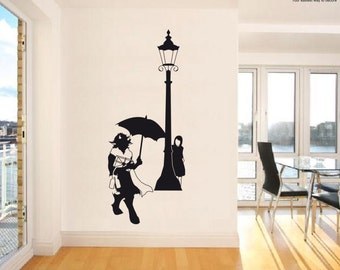 Wall Sticker Lucy and Tumnus