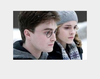 Hermione scarf pattern- Harry potter and the half blood prince download pattern