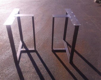 industrial steel tbox style metal tabledesk legs any sizecolor
