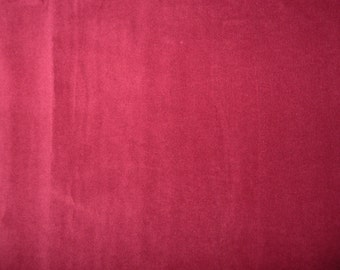 Fabric - Stretch velvet fabric - burgundy