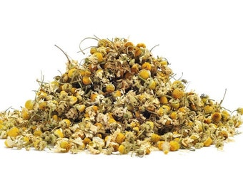 Organic Chamomile Flowers 2 oz, Chamomile Flowers Are Used For Making Tea Or Aromatic Scent In Soothing Mind And Body, Chamomile Meditation