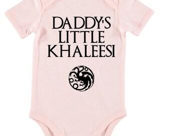 Game of Thrones onesie. Khaleesi onesie - baby onesie - daenerys targaryen oneise
