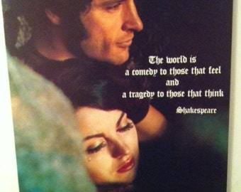 Shakespeare's Vintage 1970's Poster Dunstan Pereira