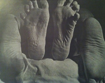 Feet Getting it on Vintage 1970's Poster