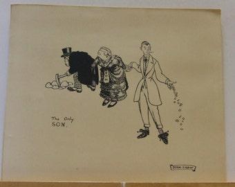 John Byam Shaw 4 illustrations from Life's Ironies + Venus & Mars 1912