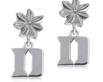 Duke Sterling Silver Flower Post Earrings