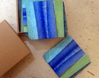 Blue Coasters