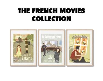 Films français, la collection ! - Affiches de film - posters a3