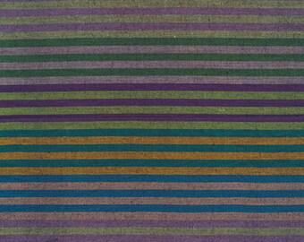 1/2 yard of Kaffe Fassett Caterpillar Dark  Striped  Fabric