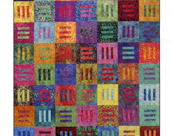 Modern Thinking Quilt pattern by Janine Burke.