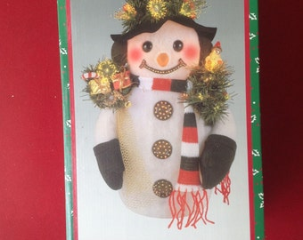 Fiberoptic Christmas Snowman