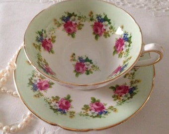 Stanley China Tea Cup & Saucer