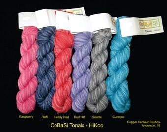 CoBaSi Sock Yarn: Tonal