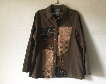 Vintage Blouse Jacket - Indigo