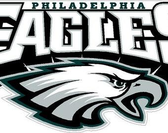 Philadelphia Eagle Decals