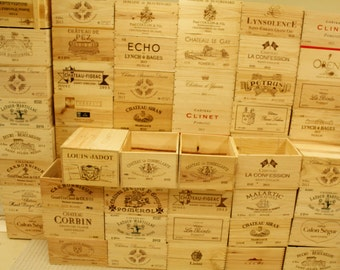 Wood Wine Crates (6-Bottle Size)
