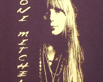 Joni Mitchell t shirt #2 Small-XL You choose size in a message