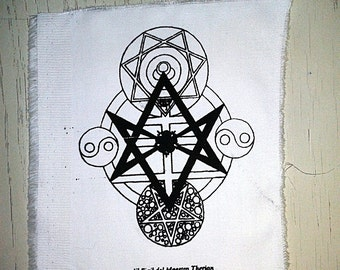 patch seal of Master Therion thelema crowley magick esoteric occult mysticism