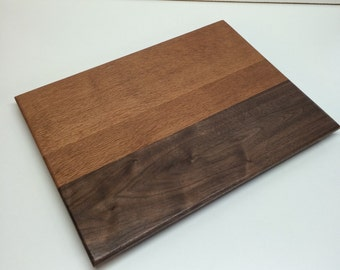Lace Wood and Black Walnut Serving Tray