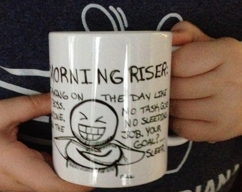 The Morning Riser Coffee Mug