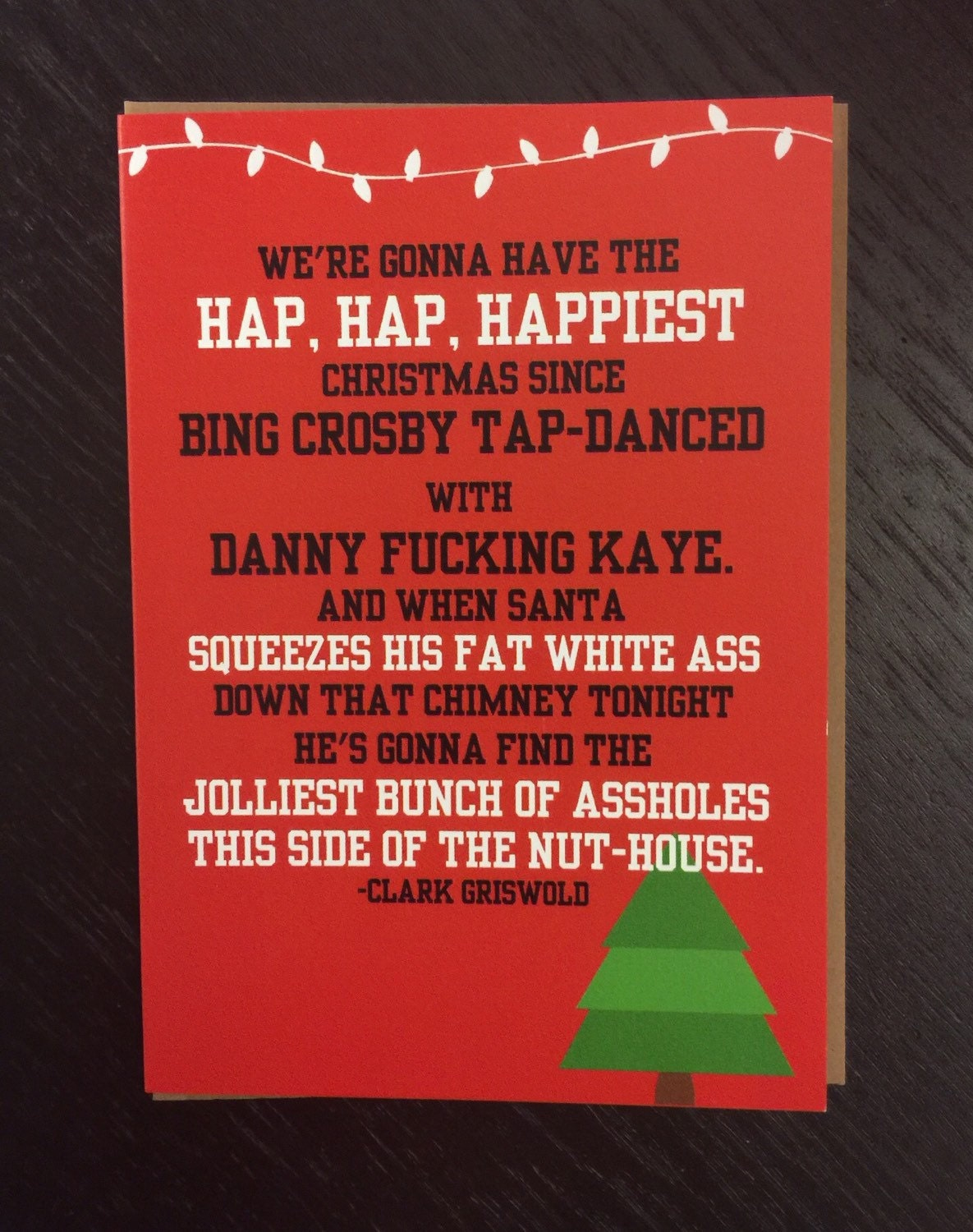 National Lampoons Christmas Vacation Chevy By