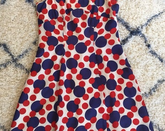 Vintage 1960's Polka Dot Dress