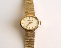 Vintage 10k Gold Filled Caravelle Ladies Watch With KESTEN MADE Mesh Band