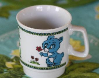 Vintage 1960's Childrens Mug