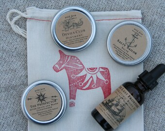 Mountain Man Survival Set // Everything He needs To Survive the Harsh Winter // Deep Healing