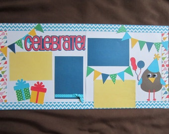 "Scrapbook Page Kit ""Celebrate"""