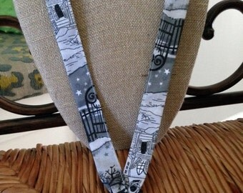 Haunted Halloween Holiday Lanyard