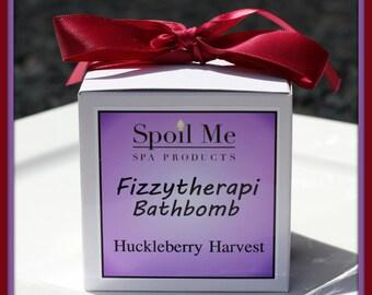 Huckleberry Harvest Fizzytherapi Bathbomb/Huckleberry Harvest Bath Bomb/Bath Bomb/Huckleberry Bath Bomb