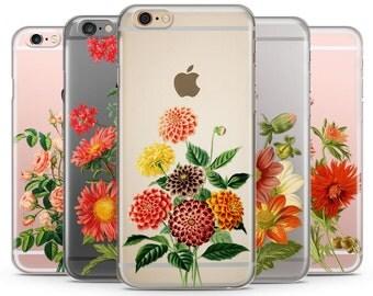 Flowers iPhone Case, iPhone 6 plus case Transparent iPhone Case, iphone 6s case, iPhone 7 case, iPhone 6s plus case, Rose iphone 6 case