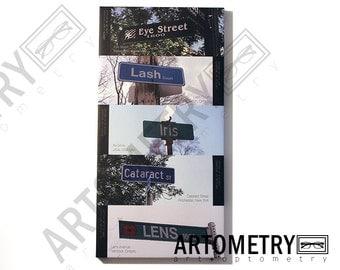 Eye Street Signs Canvas
