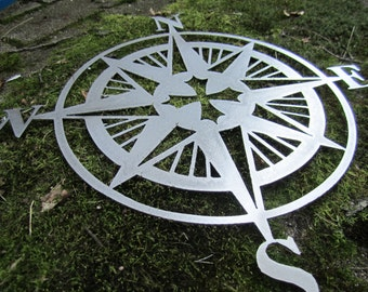 Nautical Compass Rose Wall Hanging Old World / European style